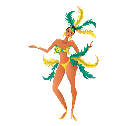 Rio Karneval tanzen Transparent PNG