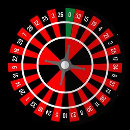 Roulette-Rad-Symbol