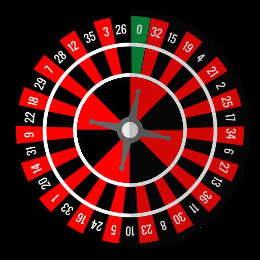 Ícone de roda de roleta Transparent PNG