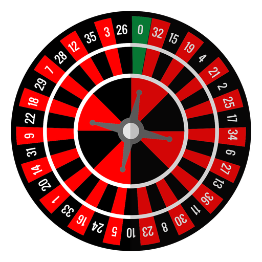Roulette wheel icon Transparent PNG