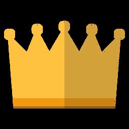Icono de corona real