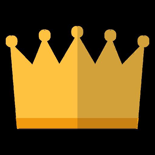 Ícone da coroa real Transparent PNG