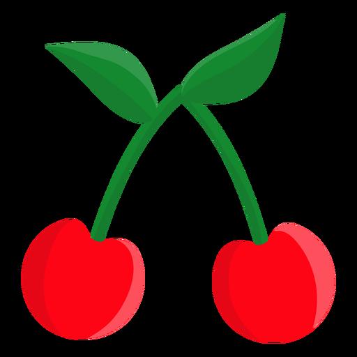 Icono de tragamonedas cheries Transparent PNG