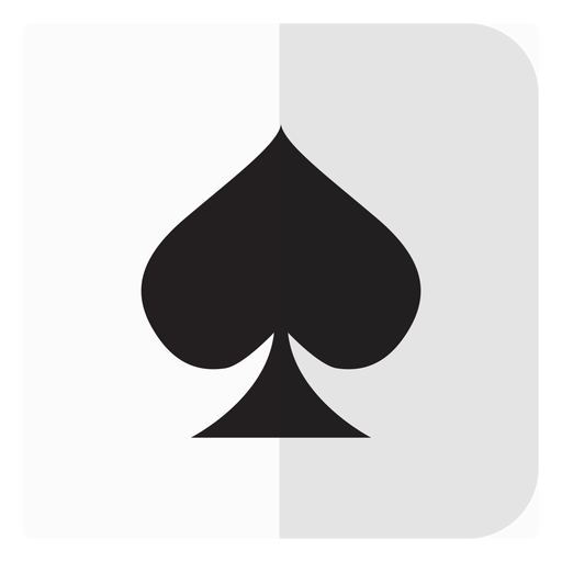 Spades card icon Transparent PNG