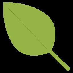 Elemento de folha de árvore hippie