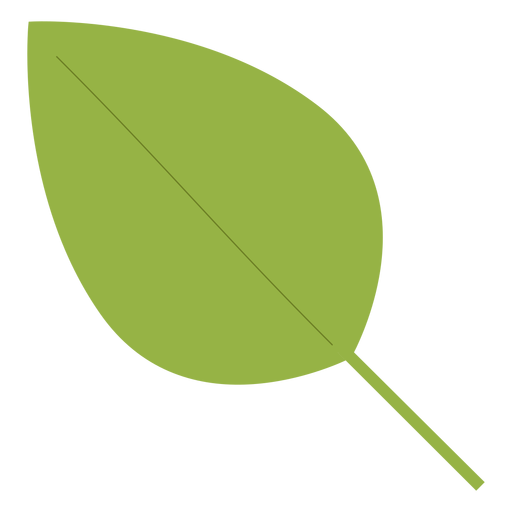 Elemento hippie de hoja de árbol