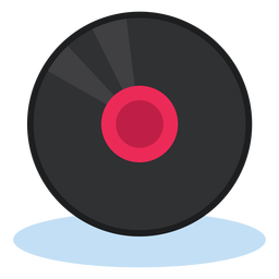 Vinyl record icon  music