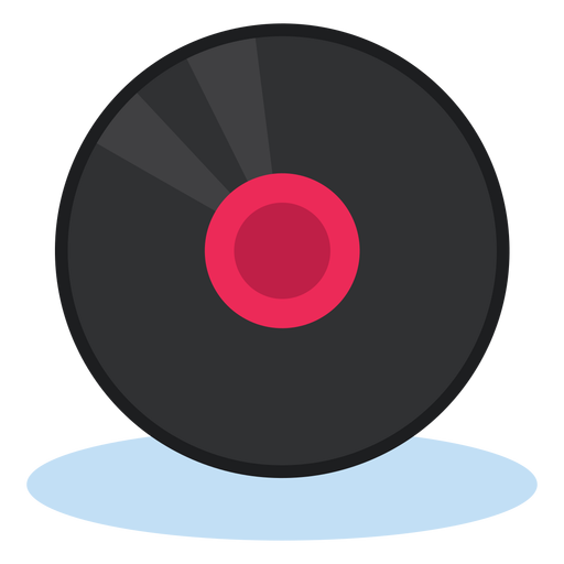 Vinyl record icon  music Transparent PNG