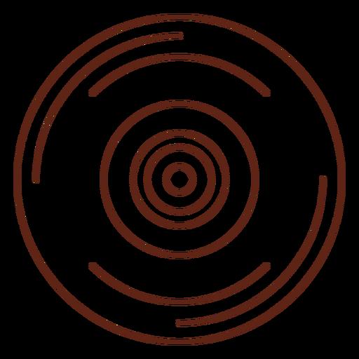 Elemento de trazo de vinilo Transparent PNG