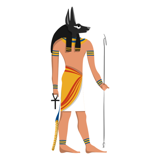 Anubis afterlife god illustration Transparent PNG