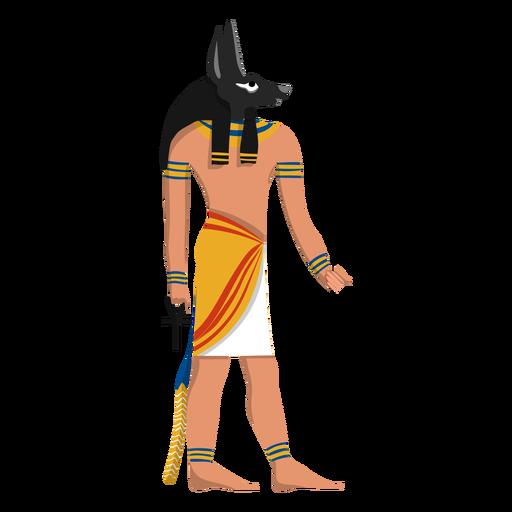 Anubis afterlife god illustration