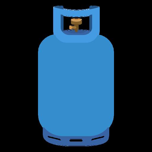 Blue propane gas tank illustration Transparent PNG