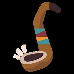 Tubo indiano colorido