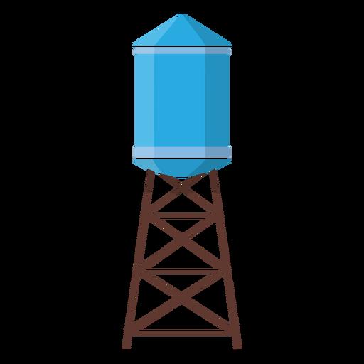 Ilustración del tanque de agua elevado Transparent PNG