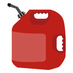 Gasoline tank illustration