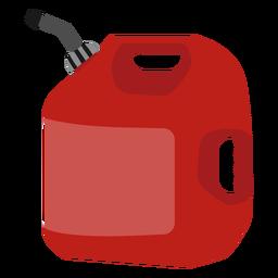 Ilustração do tanque de gasolina