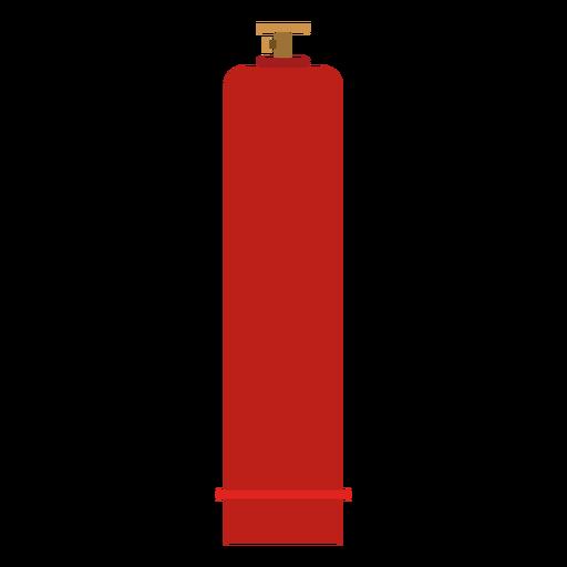 High pressure gas bottle illustration Transparent PNG