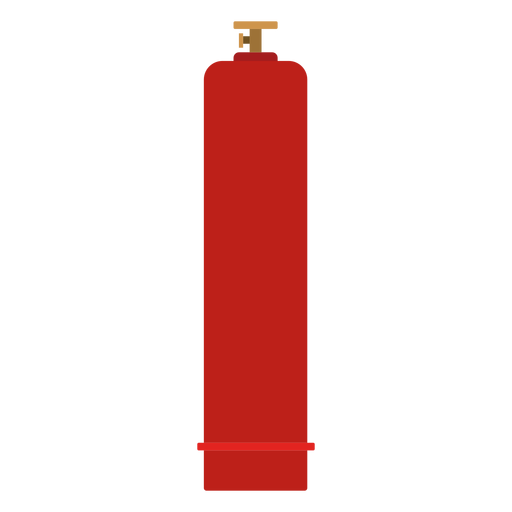 Ilustración de botella de gas de alta presión Transparent PNG