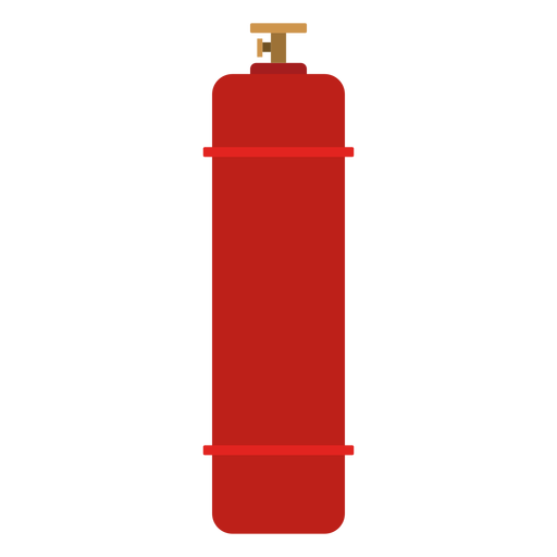 High pressure gas cylinder illustration Transparent PNG