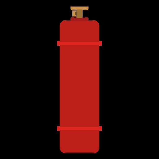 Ilustración de cilindro de gas de alta presión Transparent PNG