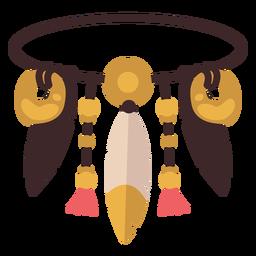 Diadema nativo americano