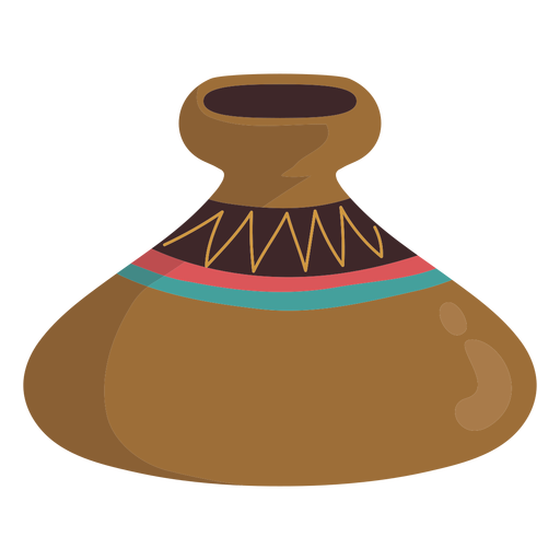 Native american jar Transparent PNG