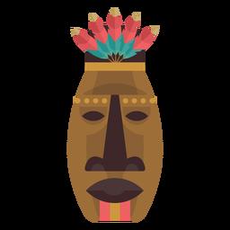 Máscara de nativo americano