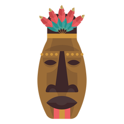 Máscara nativa americana