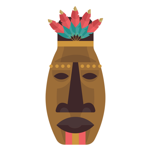 Native american mask Transparent PNG