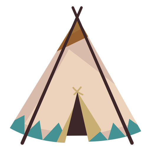 Native american teepee Transparent PNG