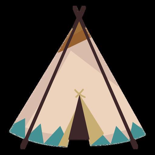 Native american teepee