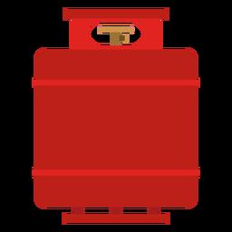 Ilustración del tanque de gas propano