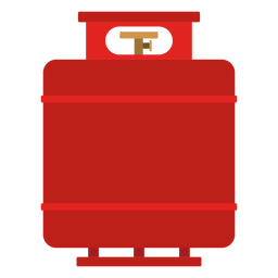 Propane gas tank illustration
