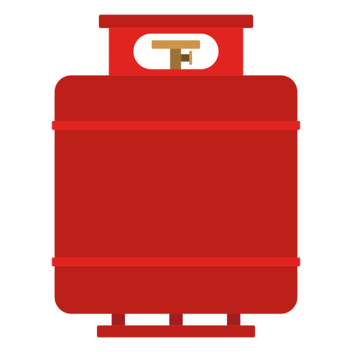 Ilustración del tanque de gas propano Transparent PNG