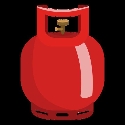 Ilustración de cilindro de gas pequeño Transparent PNG