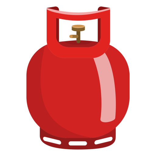 Small gas cylinder illustration Transparent PNG