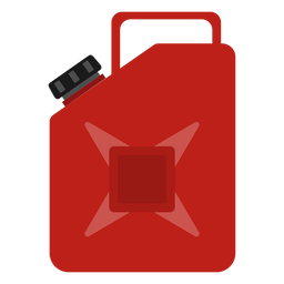 Spare fuel tank illustration