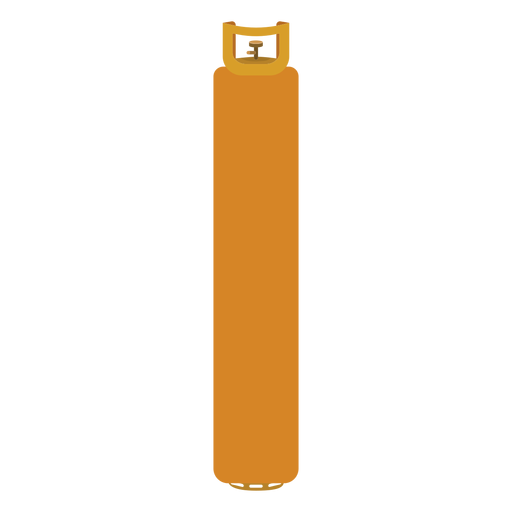Yellow gas bottle illustration Transparent PNG