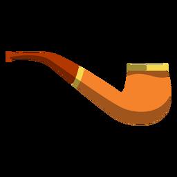 Ilustración de la pipa de tabaco