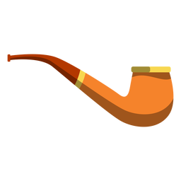 Tobacco pipe illustration