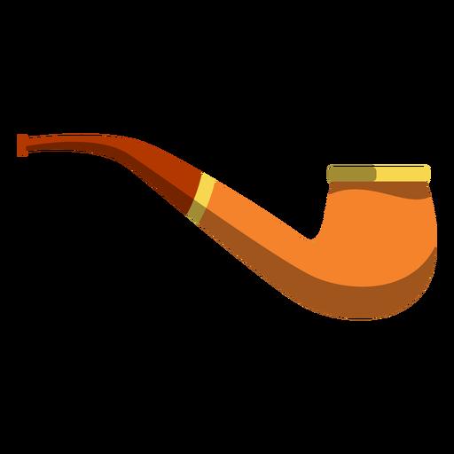 Ilustração de tubo de tabaco Transparent PNG