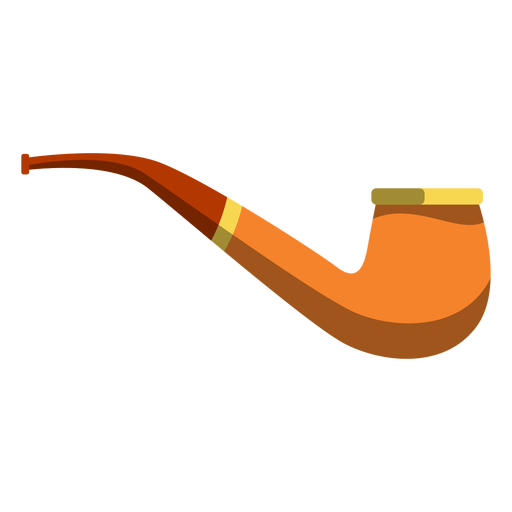 Tobacco pipe illustration Transparent PNG