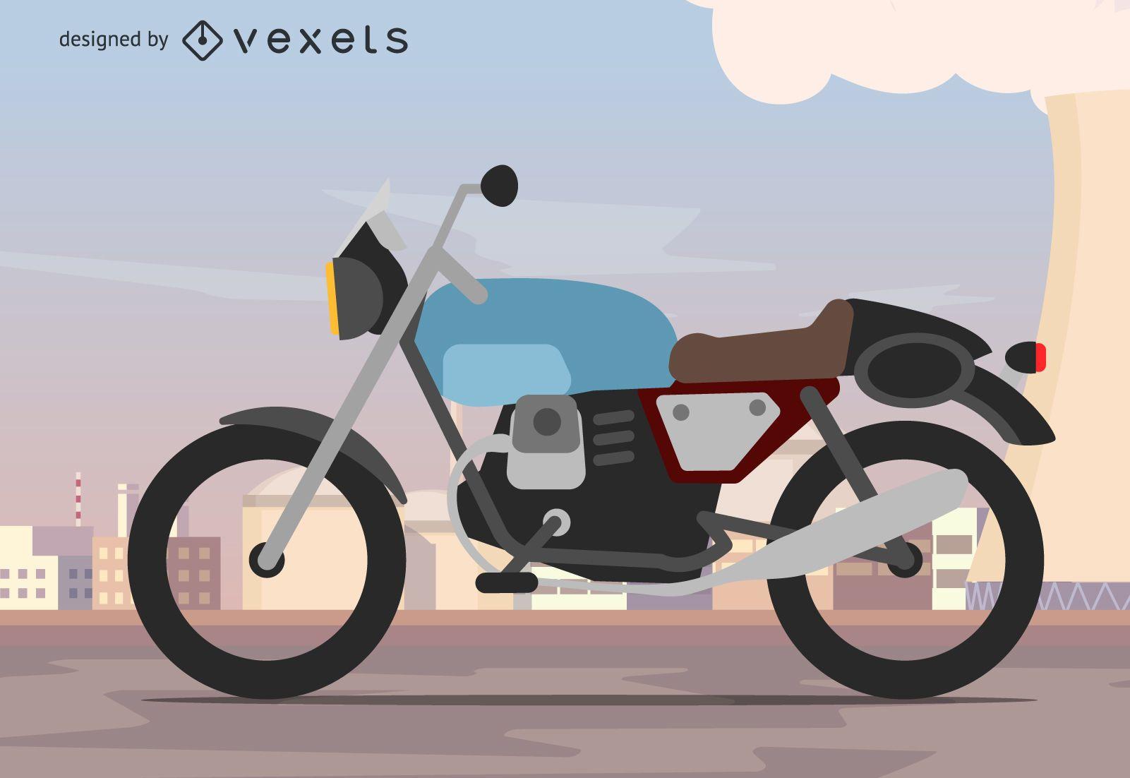 Fondo de motocicleta