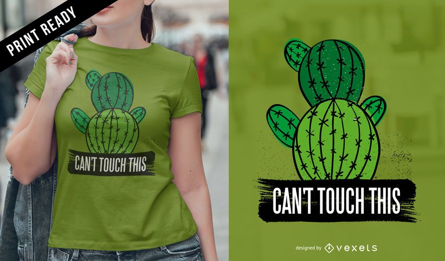 Can't touch t-shirt design