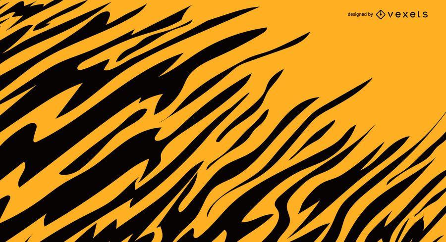 Tiger streift Hintergrund