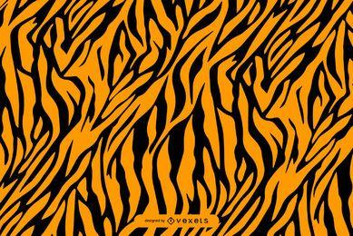 Patrón de rayas de tigre