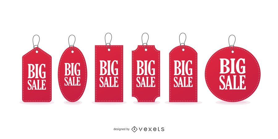 Big sale price tags