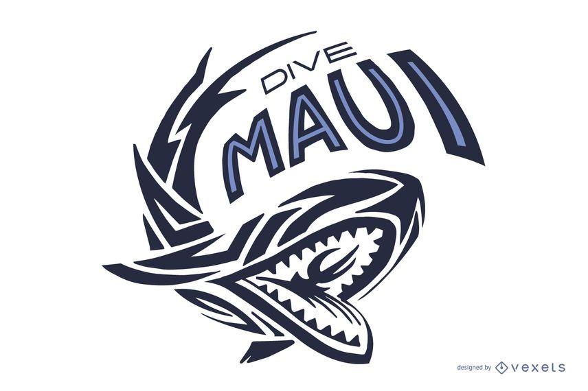 Tauchen Maui Logo