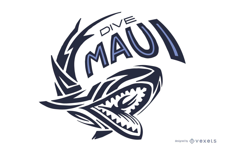 Logotipo de Dive Maui