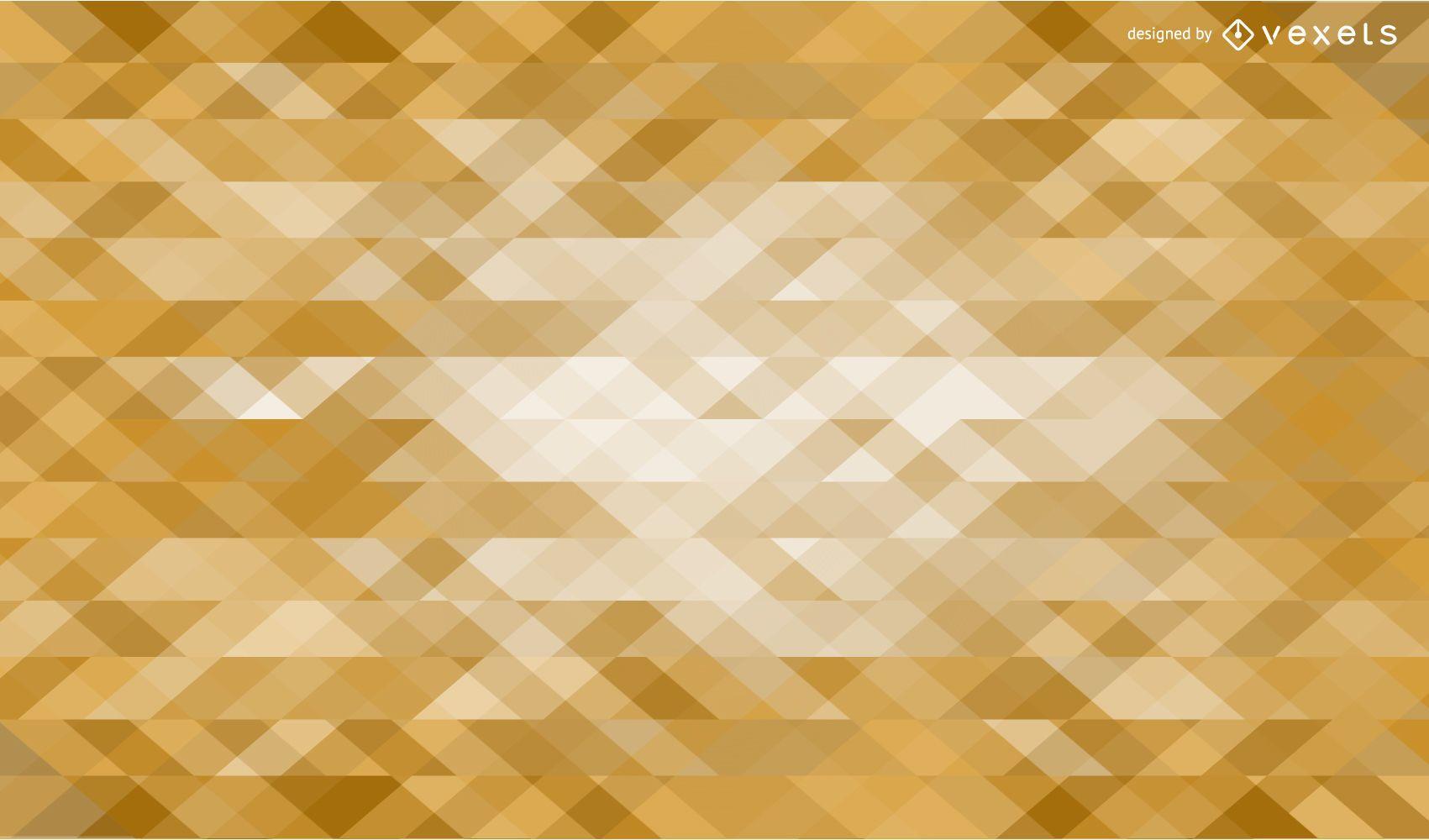 Golden triangles background